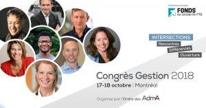 Conférence Congrès Gestion 17 octobre 2018